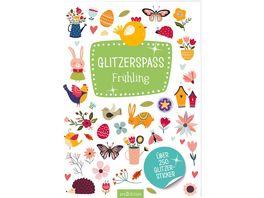 Glitzerspass Fruehling Ueber 250 Glitzersticker