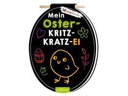 Mein Oster Kritzkratz Ei