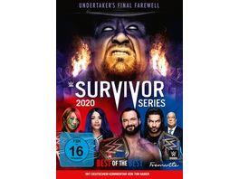 WWE Survivor Series 2020 2 DVDs