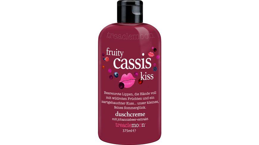 treaclemoon duschcreme fruity cassis kiss