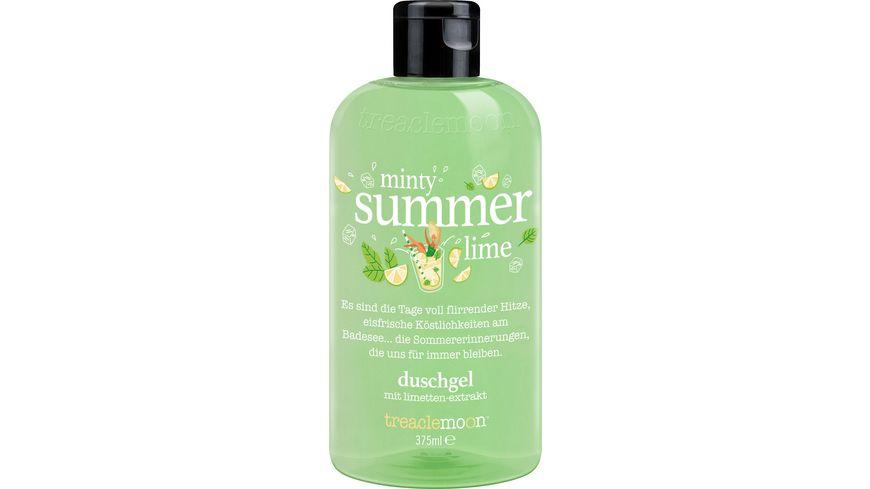 treaclemoon duschgel minty summer lime