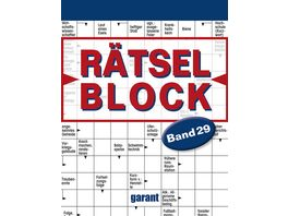 Raetselblock Band 29