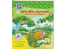 WAS IST WAS Junior Apfel Birke Loewenzahn Kennst du unsere Pflanzen WAS IST WAS Junior Edition