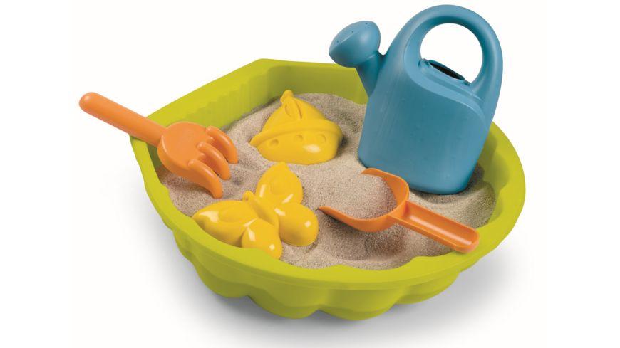 Smoby - Sandspielmuschel mit Sandspielzeug