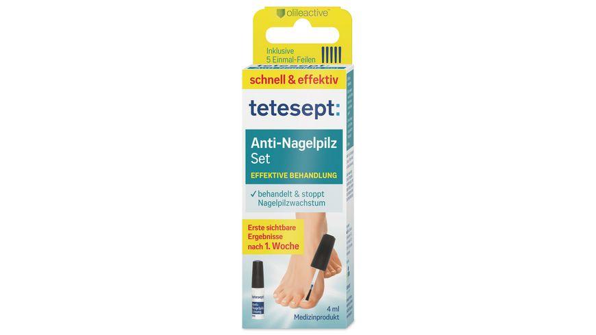 tetesept med foot care Anti-Nagelpilz Set 4ml