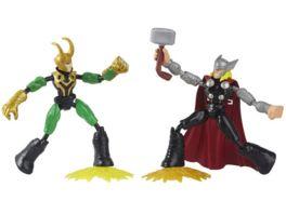 Hasbro Marvel Avengers Bend and Flex Thor gegen Loki