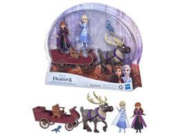 Hasbro Disney Die Eiskoenigin 2 Schlittenfahrt mit Freunden