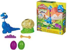 Hasbro Play Doh Dino Crew Bronto aus dem Ei