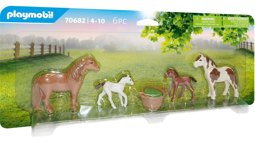 PLAYMOBIL 70682 - Country - Ponys mit Fohlen