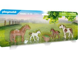 PLAYMOBIL 70682 Country Ponys mit Fohlen