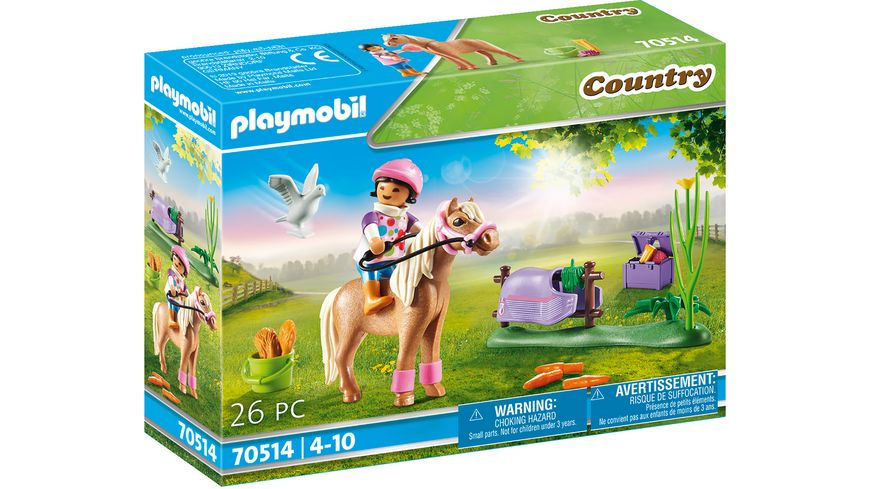 "PLAYMOBIL 70514 - Country - Sammelpony ""Isländer"""