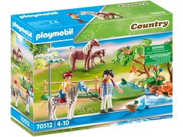 PLAYMOBIL 70512 Country Froehlicher Ponyausflug