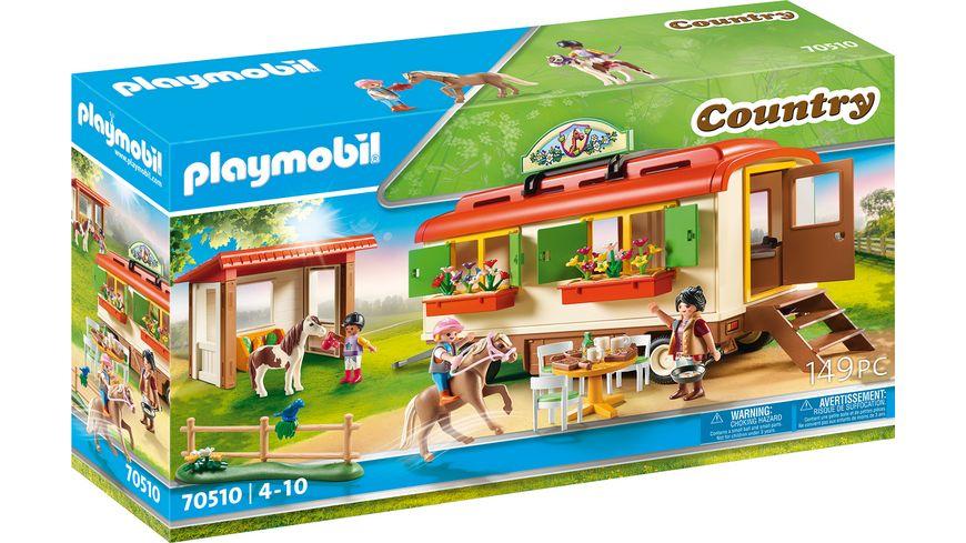 PLAYMOBIL 70510 - Country - Ponycamp-Übernachtungswagen
