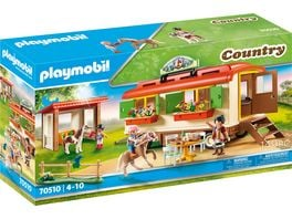 PLAYMOBIL 70510 Country Ponycamp Uebernachtungswagen