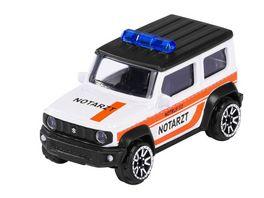Majorette S O S Fahrzeug Suzuki Jimny Notarzt