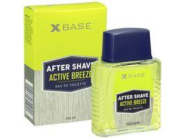 X BASE After Shave Active Breeze Refreshing After Shave Eau de Toilette