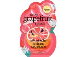 treaclemoon badeschaum sunny grapefruit splash