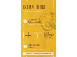 i m Natural Lifting 2in1 Reinigung Maske