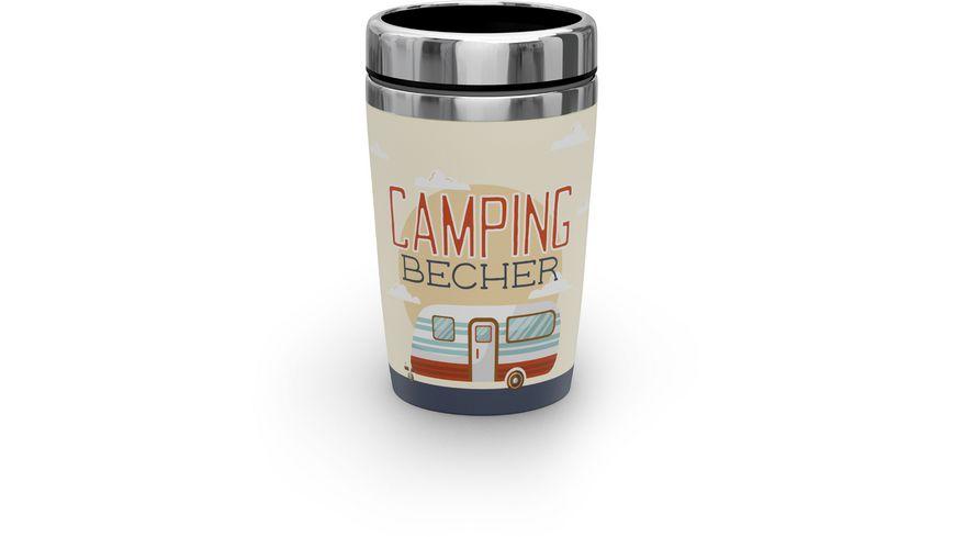 Geschenk für Dich Thermo To-Go 240 ml Camping Becher