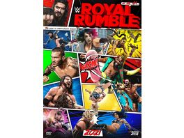 WWE Royal Rumble 2021 2 DVDs