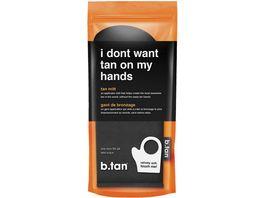 b tan Applikations Handschuh zur Selbstbraeunung