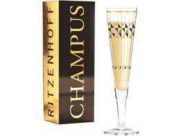 RITZENHOFF Champus Champagnerglas B Neie Artdeko H19
