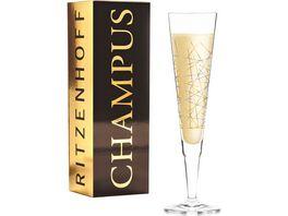 RITZENHOFF Champus Champagnerglas B Neie Mikado H19