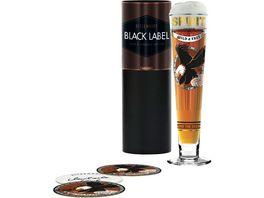 RITZENHOFF Black Label Bierglas M Koch H19