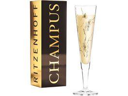 RITZENHOFF Champus Champagnerglas M Benzoni Floral F20