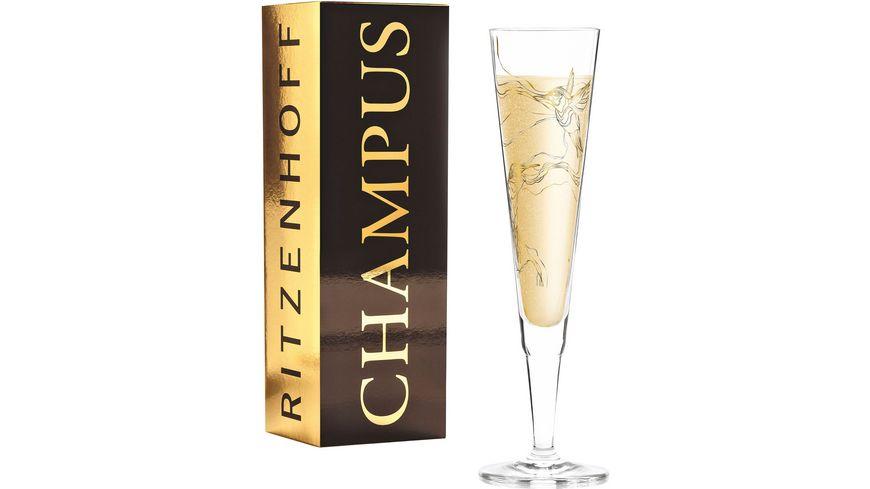 RITZENHOFF Champus Champagnerglas M. Benzoni (Kolibri) F20