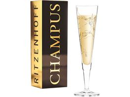 RITZENHOFF Champus Champagnerglas M Benzoni Kolibri F20