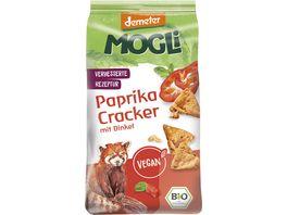 MOGLi Paprika Cracker mit Dinkel