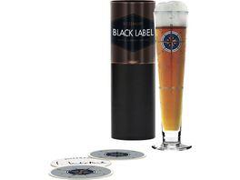 RITZENHOFF Black Label Bierglas I Interthal H18