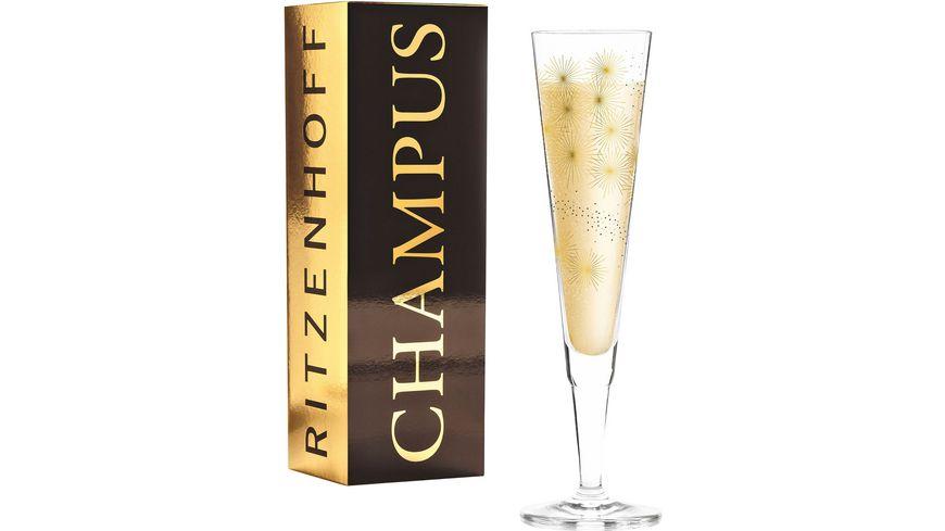 RITZENHOFF Champus Champagnerglas L. Kühnertová F19