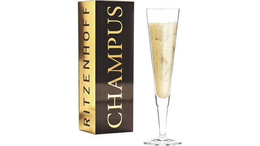 RITZENHOFF Champus Champagnerglas L. Kühnertová (Lantern) F20