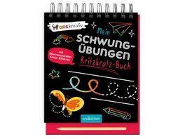 Mein Schwunguebungen Kritzkratz Buch