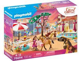 PLAYMOBIL 70694 Spirit Untamed Miradero Festival