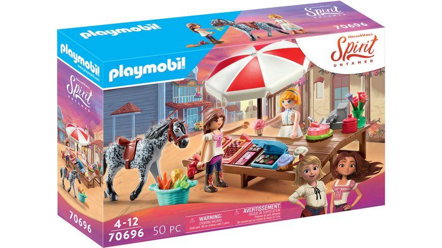 PLAYMOBIL 70696 - Spirit Untamed - Miradero Süßigkeitenstand