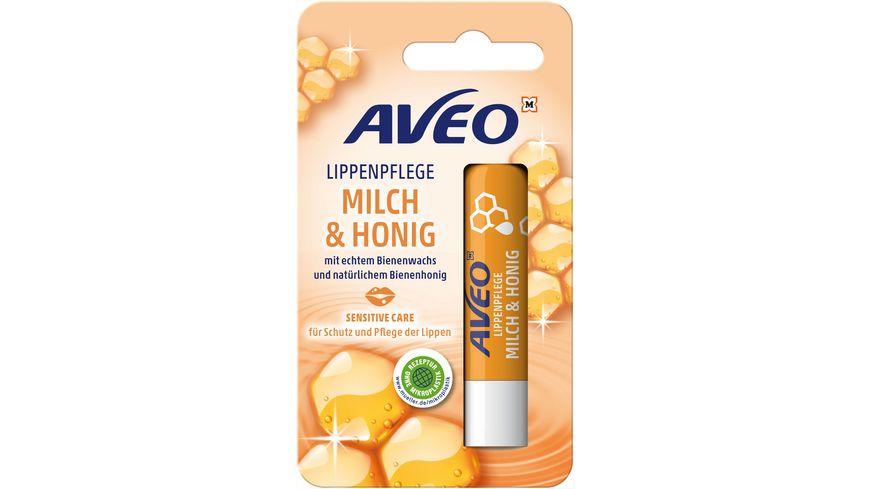 AVEO Lippenpflege Milch & Honig