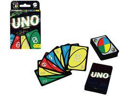 Mattel Games UNO Iconic Series 2000 s Jubilaeumsedition Kartenspiel ab 7 Jahren