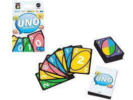 Mattel Games UNO Iconic Series 2010 s Jubilaeumsedition Kartenspiel ab 7 Jahren