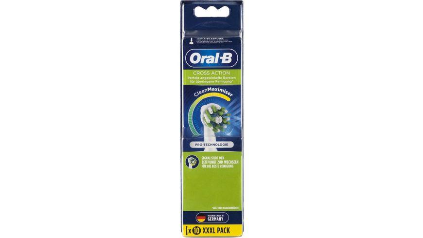 Oral B CrossAction Aufsteckbuersten