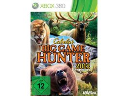 Cabela s Big Game Hunter 2012 XBOX360