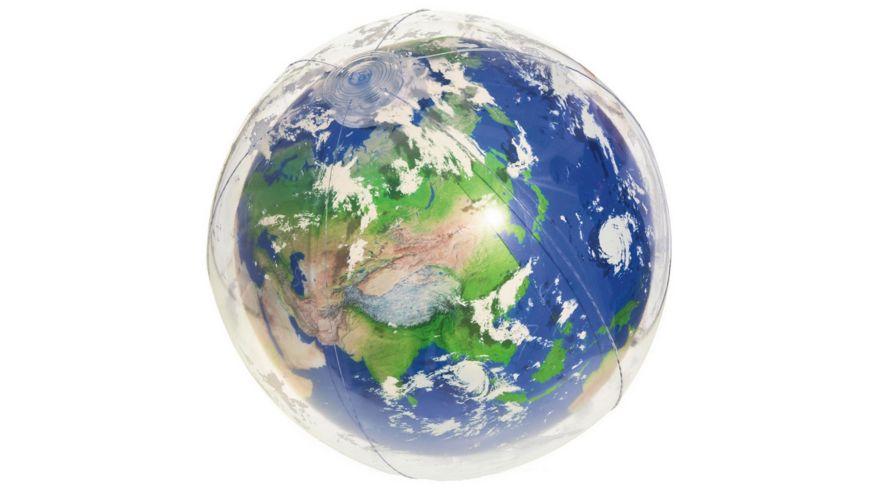 "Bestway - Wasserball ""Earth Glowball"" mit LED-Licht 61 cm"