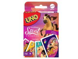 Mattel Games UNO Spirit frei und ungezaehmt Kartenspiel ab 7Jahren