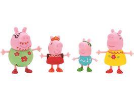 PEPPA Peppa 4er Spielfigurenpack Familienfeste