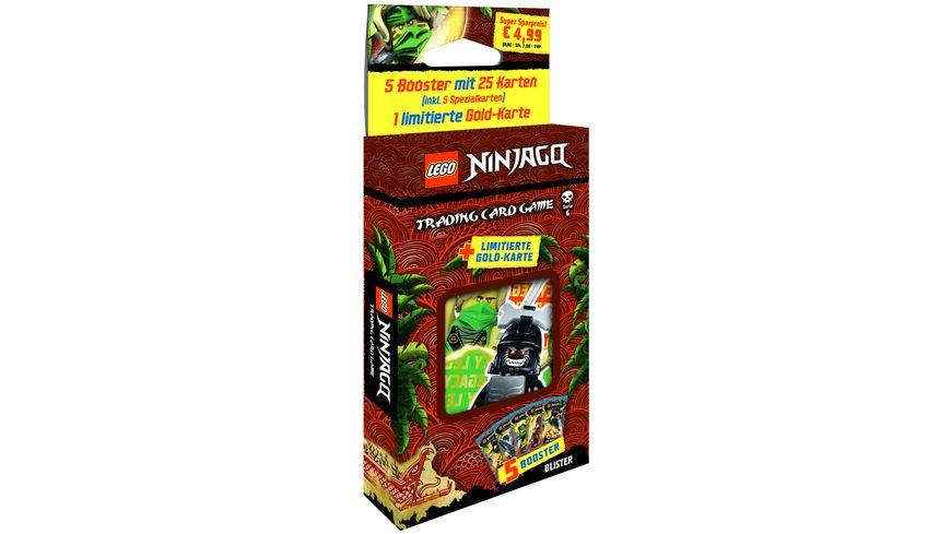 Blue Ocean - Lego Ninjago Serie 6 - Blister mit 5 Booster