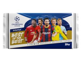 Topps UEFA Champions League Best Of The Best 7 Premium Supersize Collector Cards