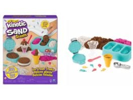 Spin Master Kinetic Sand Eiscreme Set mit Duftsand 510 g