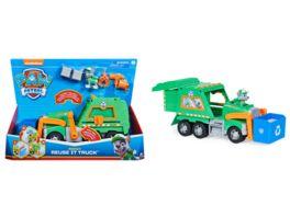 Spin Master Paw Patrol Rockys Deluxe Recycling Truck mit Sammelfigur und 3 Werkzeugen